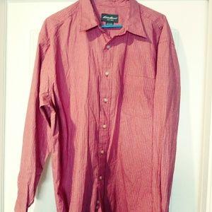 Eddie Bauer long sleeve button down shirt